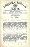 Christian Science Series, Vol. 1, No. 12