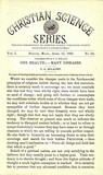 Christian Science Series, Vol. 1, No. 24