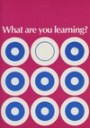 What are you learning?