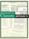 Anthology of classic articles III