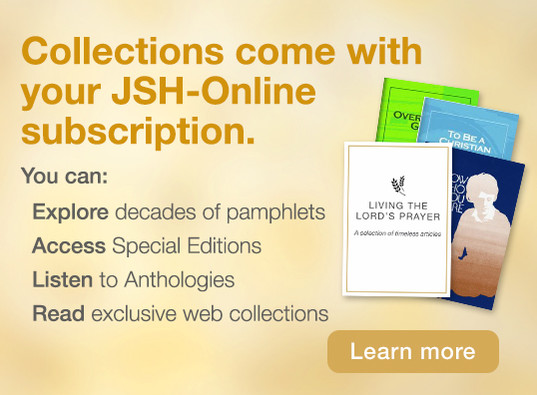 Collections come with your JSH-Online subscription