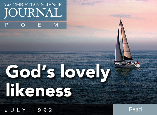 God's lovely likeness