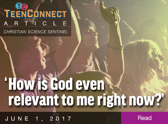 'How is God even relevant to me right now?'