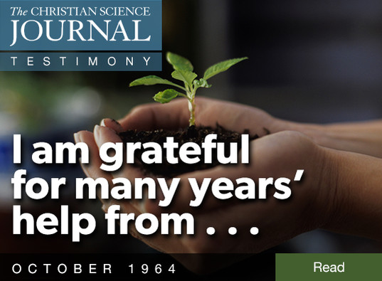 I am grateful for many years' help from...