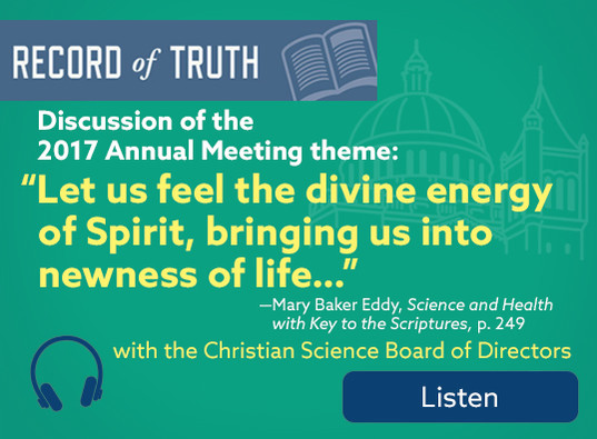 "RoT: Discussion of Annual Meeting and its theme: ""Let us feel the divine energy of Spirit, bringing us into newness of life ..."""