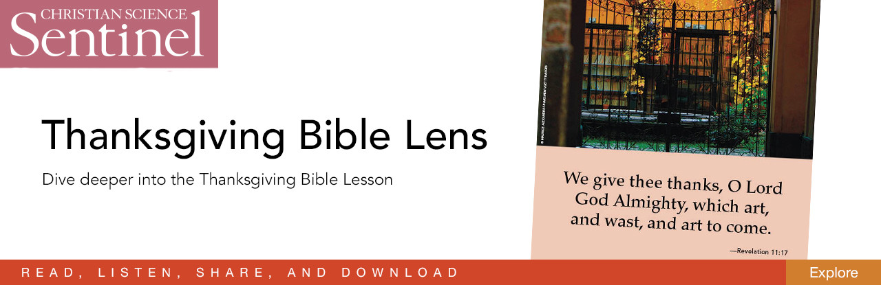 Bible Lens—Thanksgiving 2017