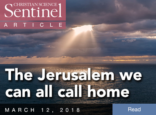 The Jerusalem we can all call home