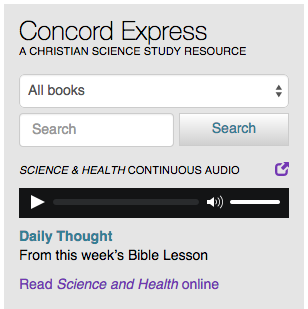 science and health continuous audio