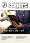 """Prayer: Relevant in Bible times and today"" Cover"