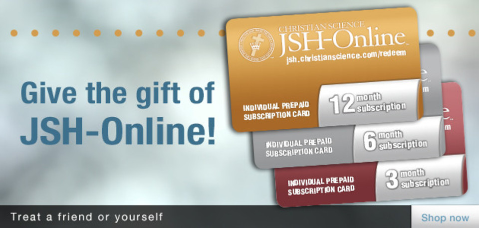 Give the gift of JSH-Online