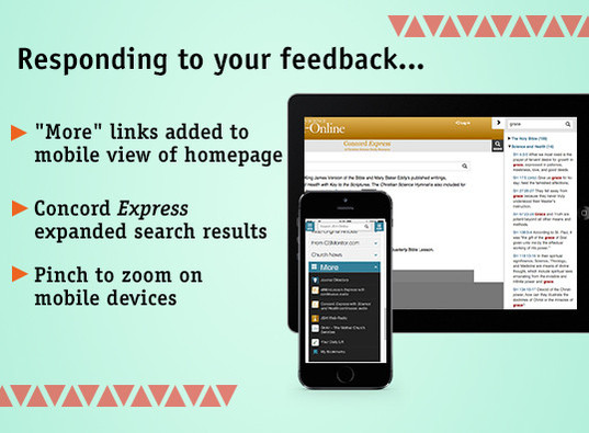 Responding to your feedback