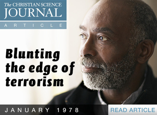 Blunting the edge of terrorism