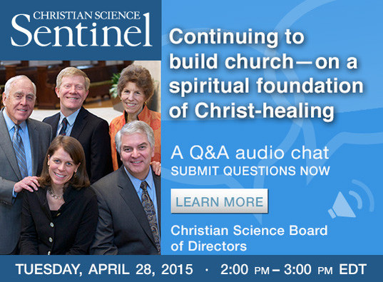 Continuing to build church—on a spiritual foundation of Christ-healing