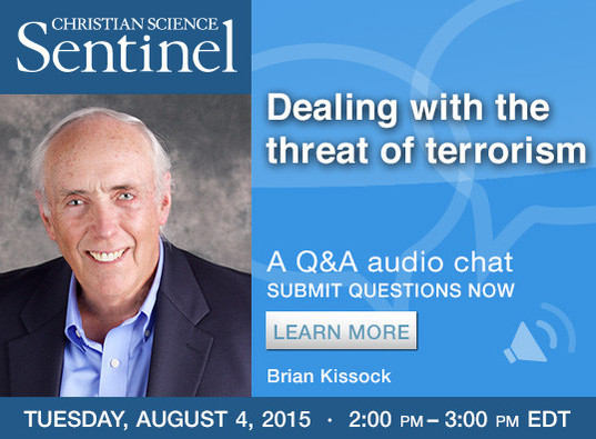Sentinel chat: Dealing with the threat of terrorism