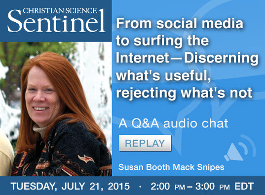 Sentinel Chat: From social media to surfing the Internet—Discerning what's useful, rejecting what's not