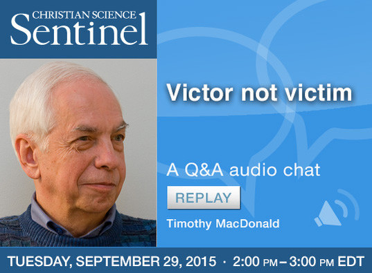 Sentinel Chat: Victor not victim