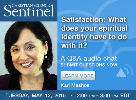 Sentinel Chat: Satisfaction: What does your spiritual identity have to do with it?