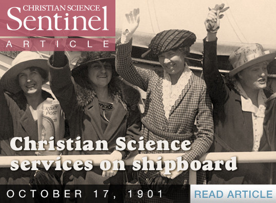 Christian Science Services on Shipboard