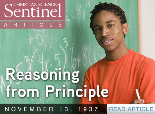 Reasoning from Principle
