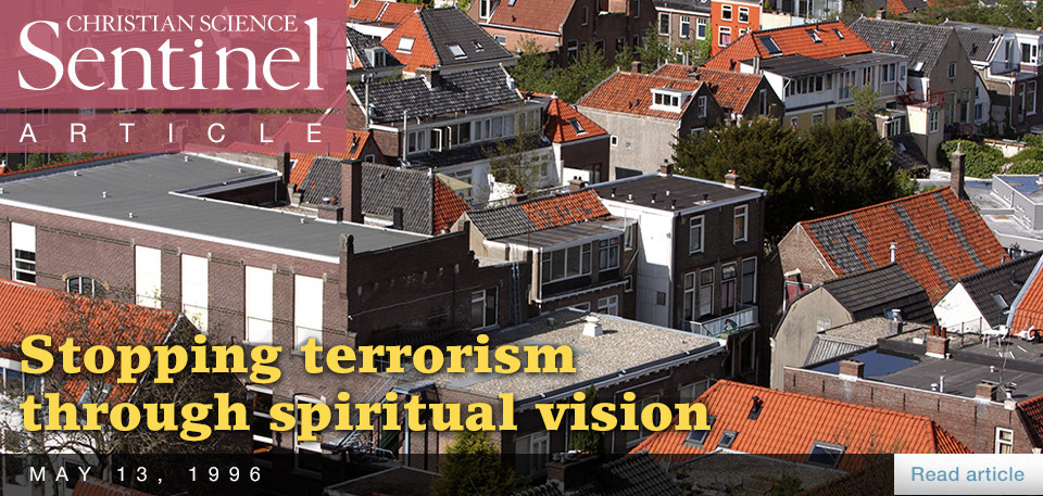 Stopping terrorism through spiritual vision