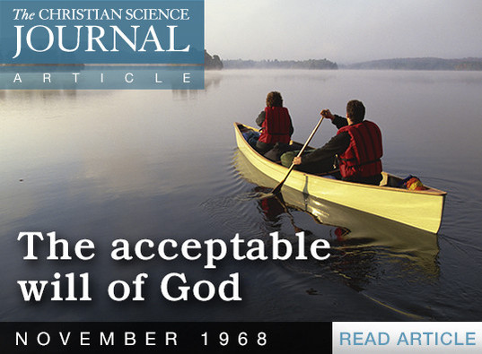 The Acceptable Will of God