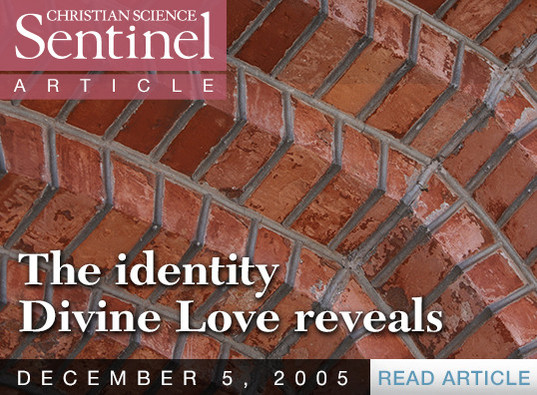 The identity Divine Love reveals